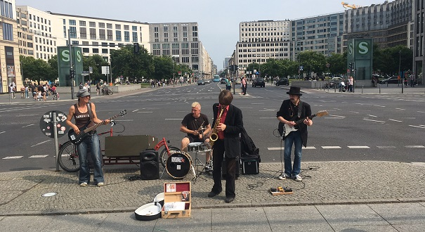 Concerts on Streets of Berlin